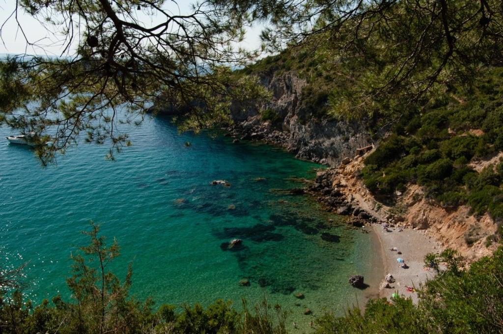 Cala di Gesso Argentario beaches in tuscany