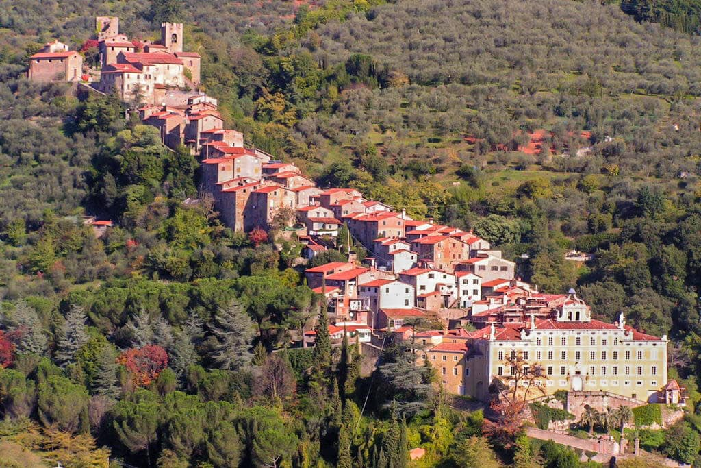 Collodi Villages in Tuscany