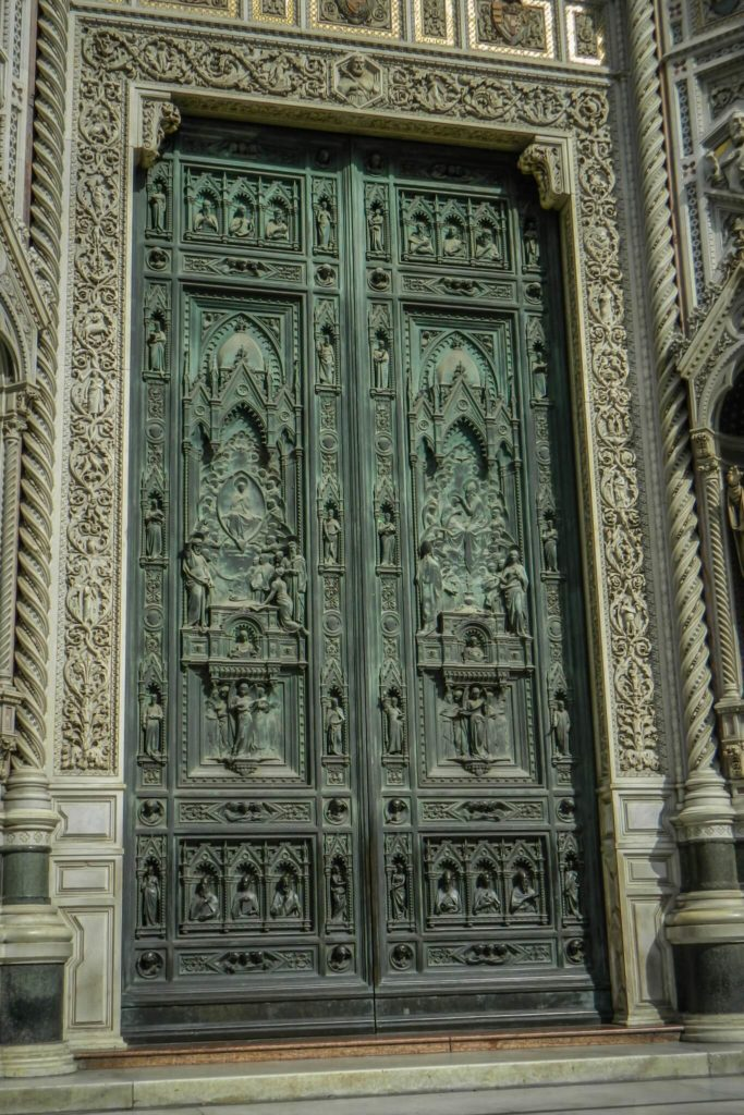 Duomo Door Joe Mack Florence Tuscany-2