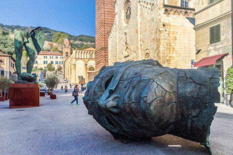 Mitoraj Exhibition Piazza Duomo Pietrasanta Tuscany