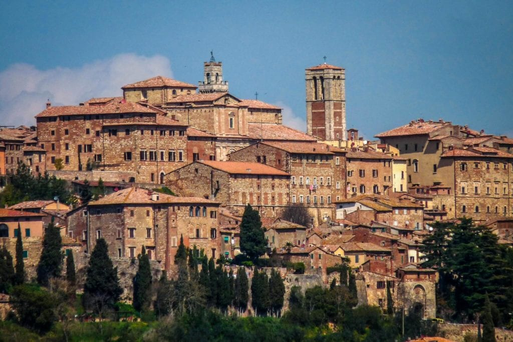 Montepulciano in Val d'Orcia