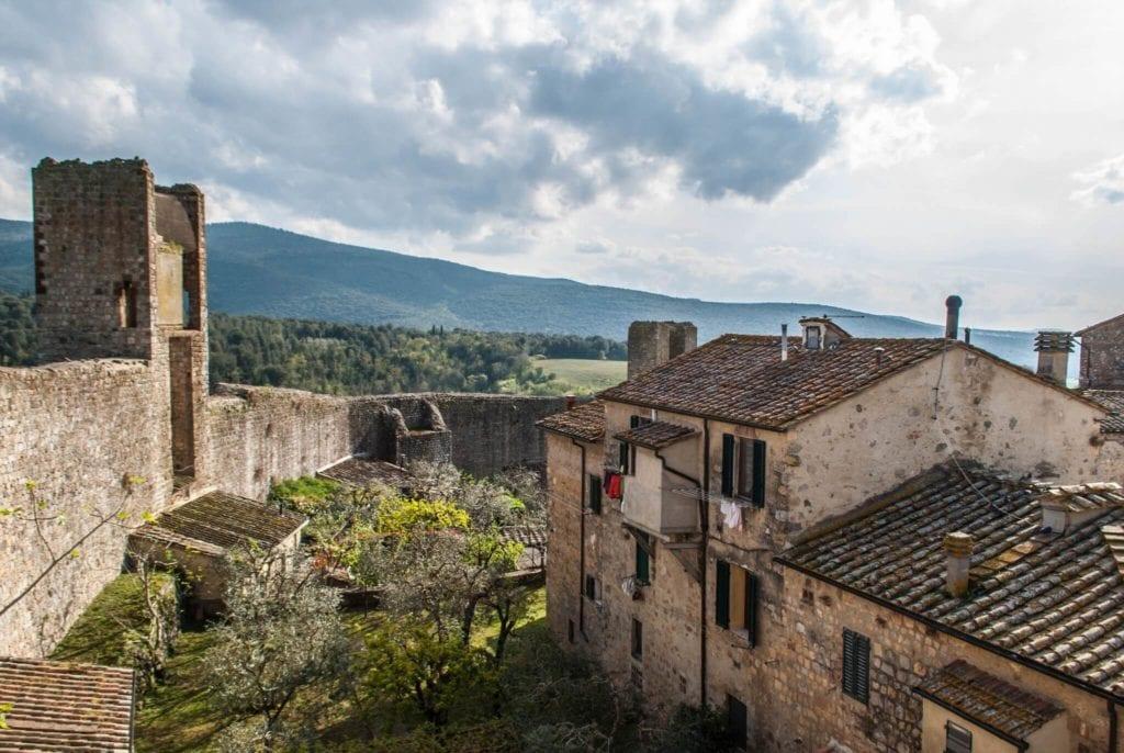 Monteriggioni Villages in Tuscany