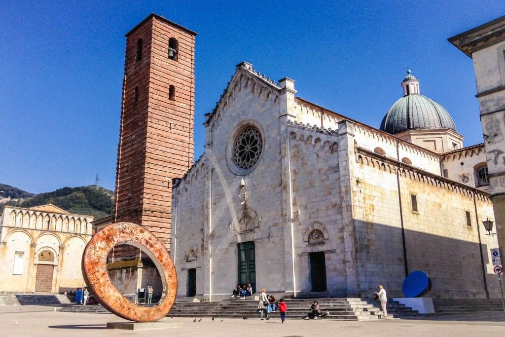 Piazza Duomo Pietrasanta Tuscany