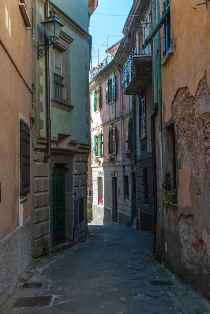 Street of Fosdinovo Tuscany