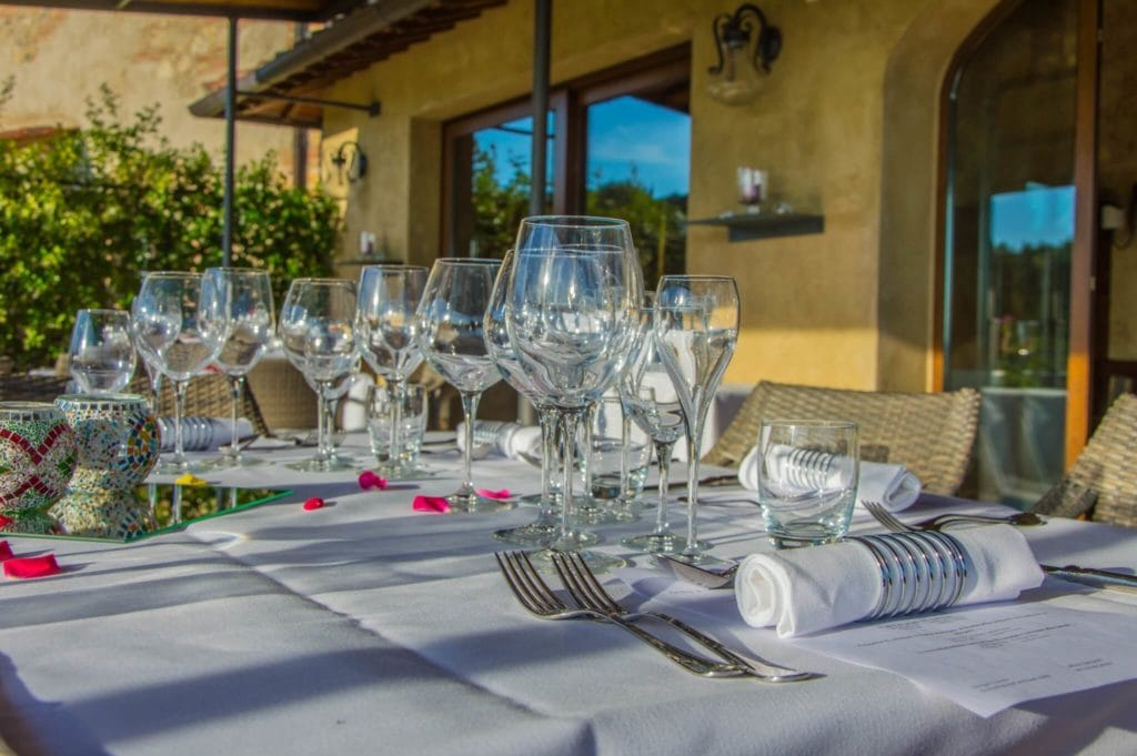 Table Convito di Curina Chianti Tuscany Giorgio trovato
