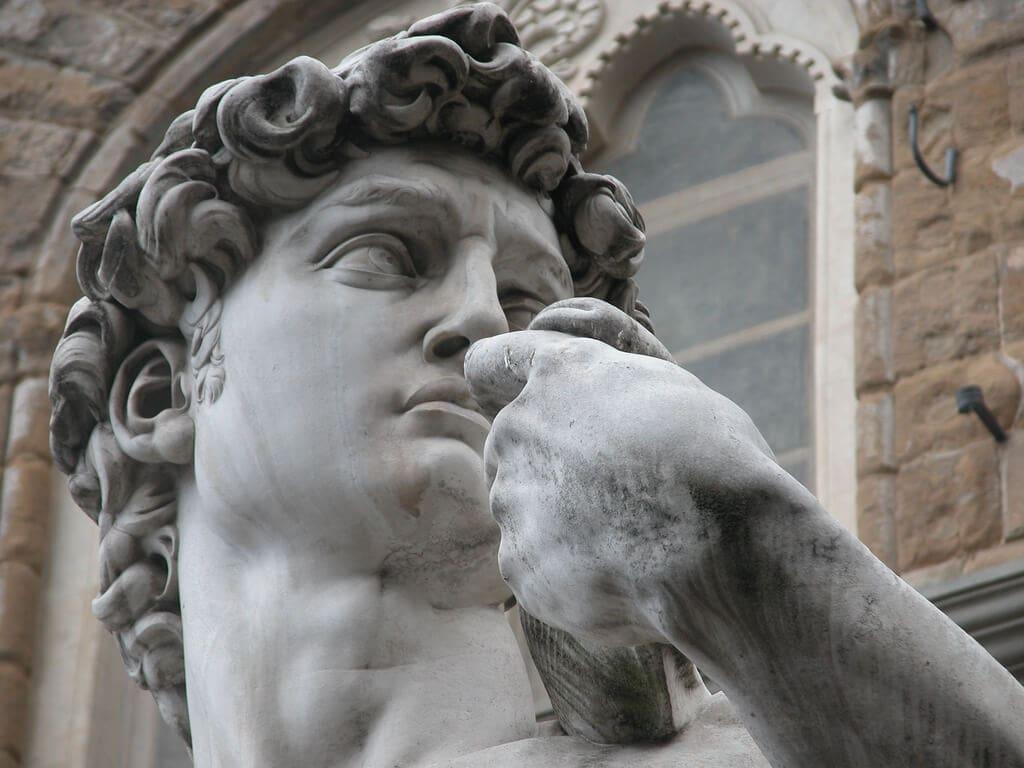 Michelangelo's David Statue Florence