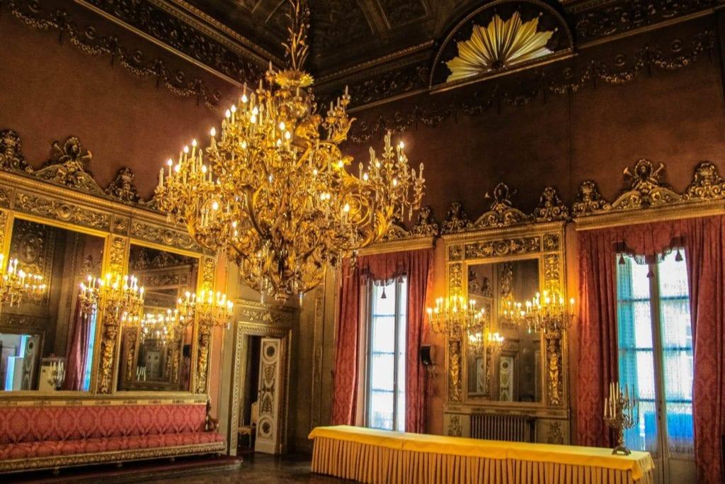 Palazzo Borghese of Florence Tuscany