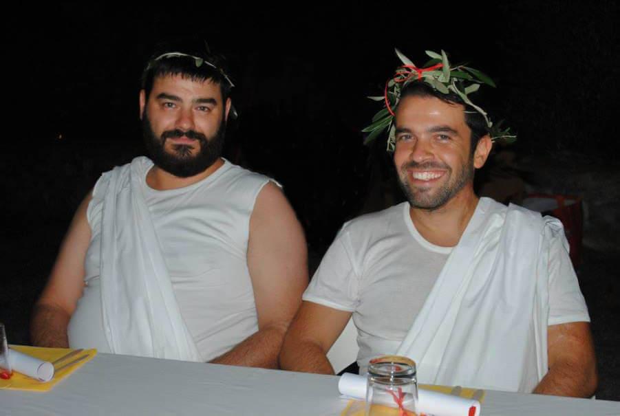 Edoardo and Nicola Massaciuccoli Romana