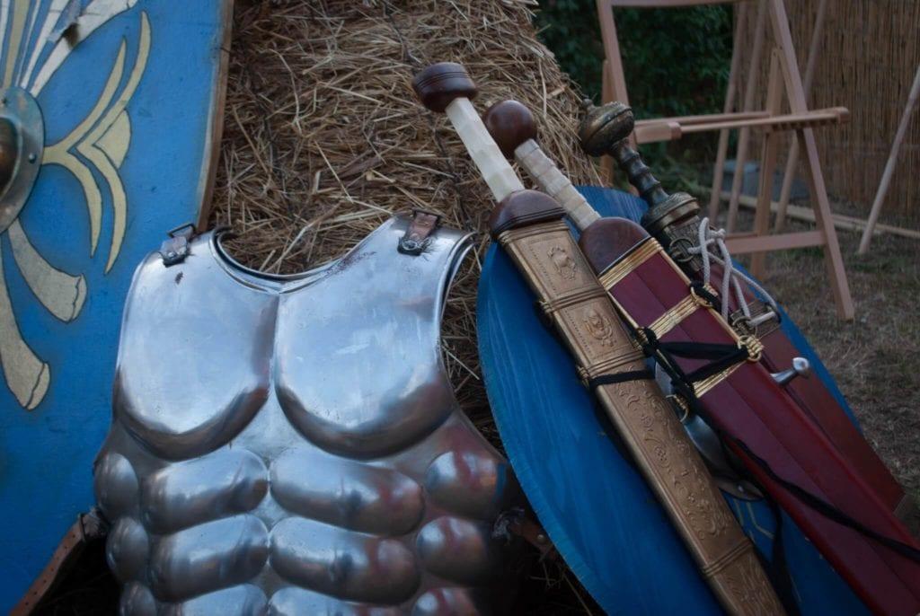 Gladiator Costumes Massaciuccoli Romana