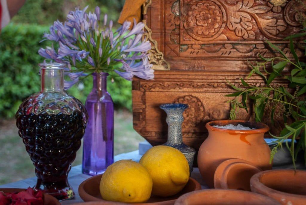 making perfumes Massaciuccoli Romana