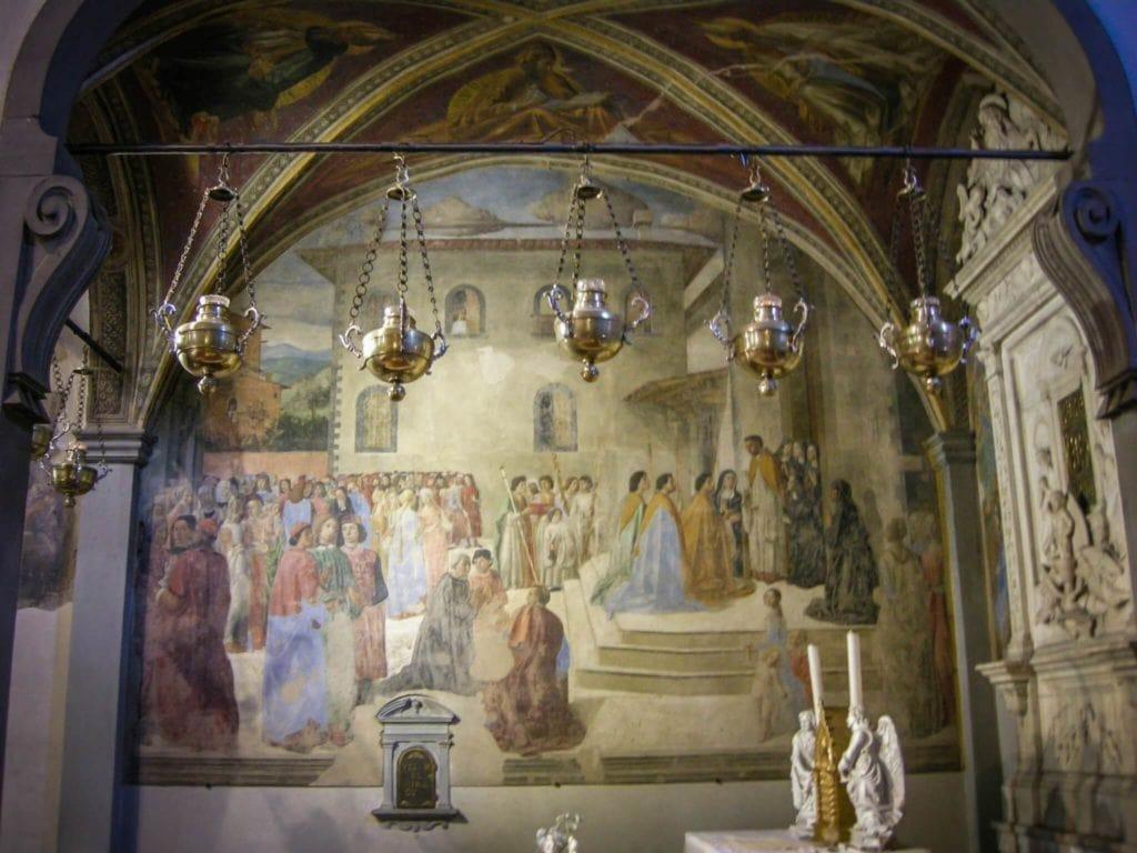 Cappella del miracolo del sacramento Florence