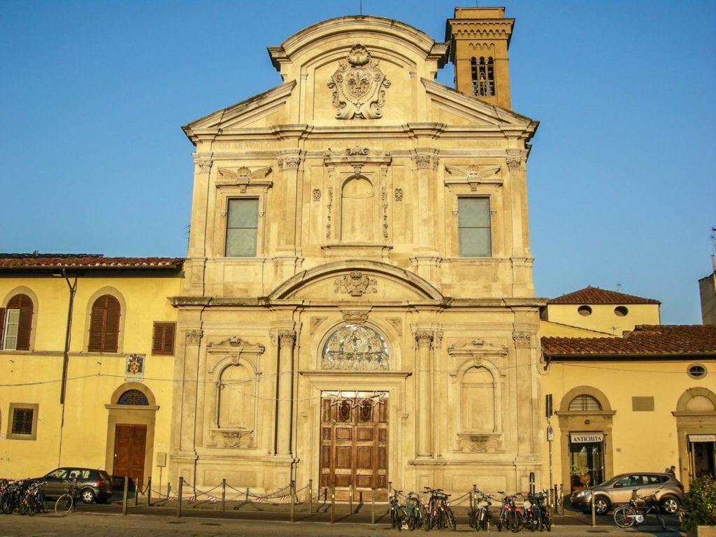 Chiesa di ognissanti Florence
