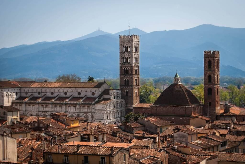 View of the Duomo of Lucca