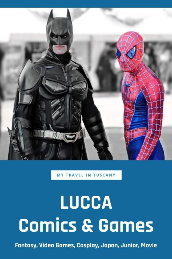 Lucca Comics & Games Cover Pinterest