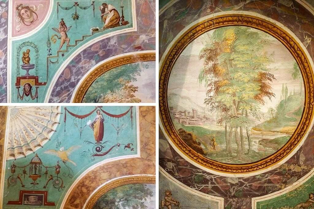 Villa Artimino Frescoes
