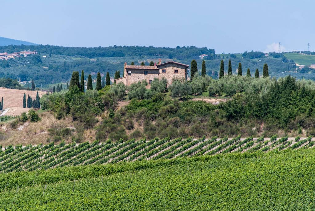 Chianti Castelnuovo Berardenga wine tours of Tuscany