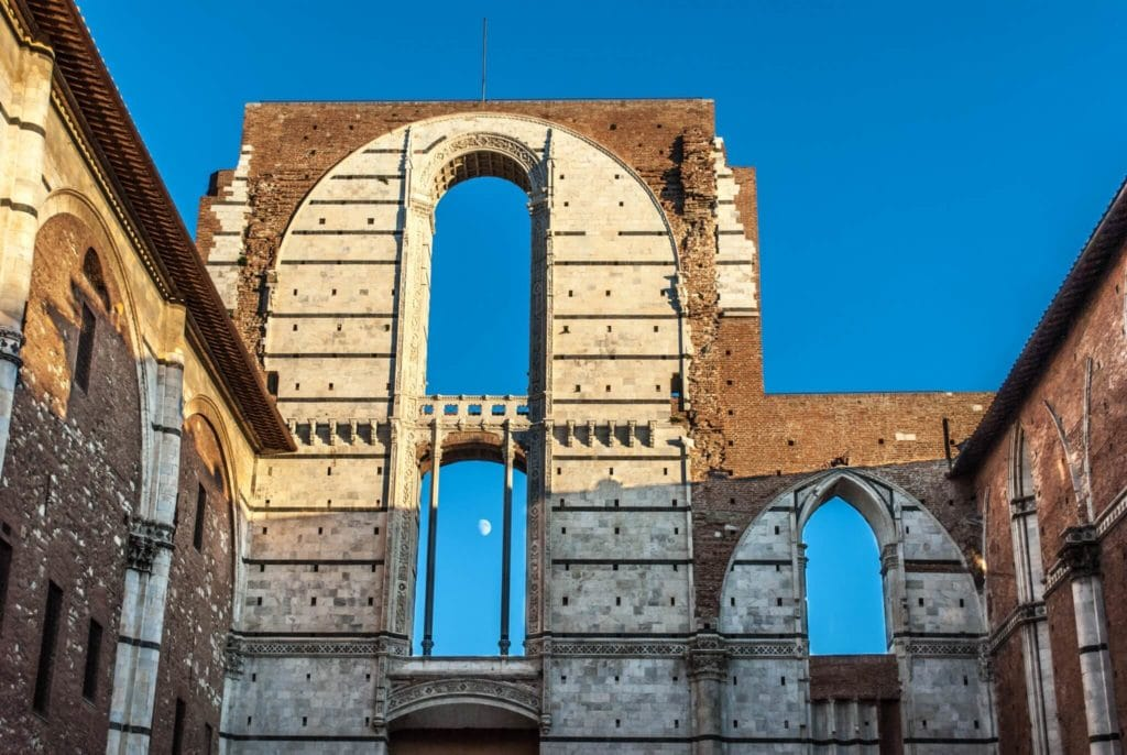 Facciatone Duomo nuovo Siena Tuscany