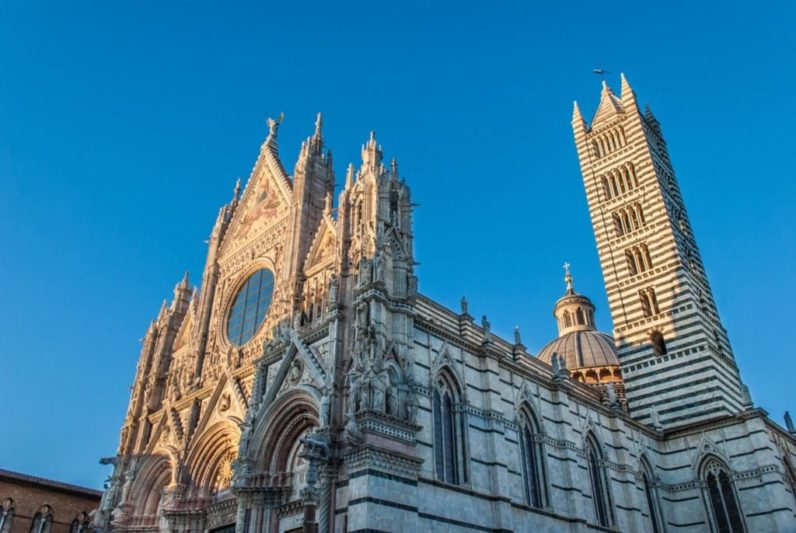 The cathedral of Siena Tuscany cover