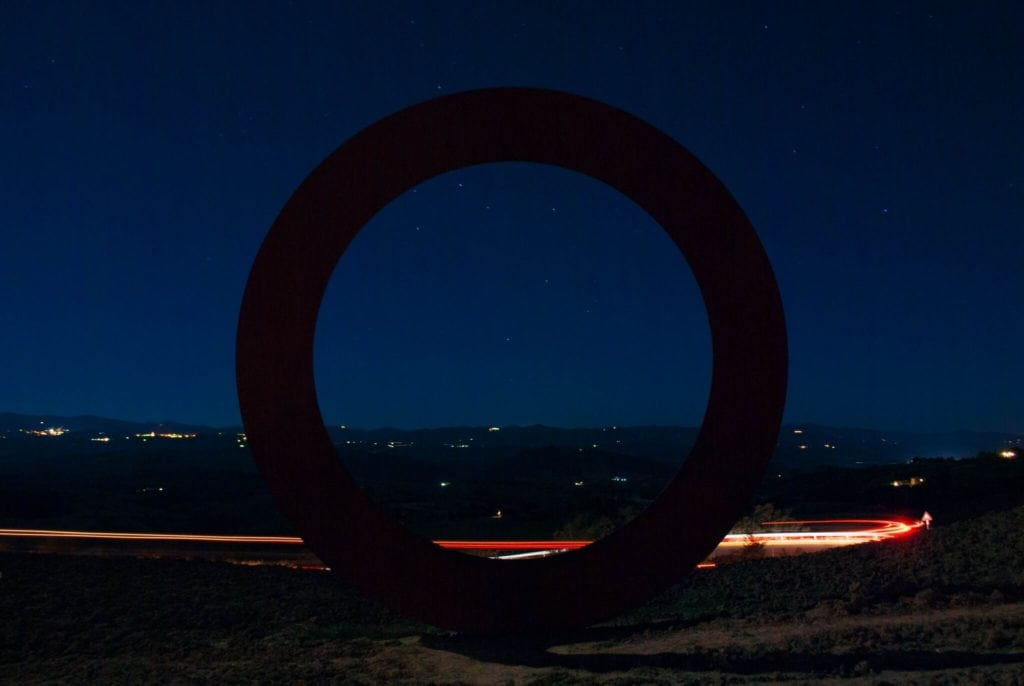 The ring in Volterra Tuscany
