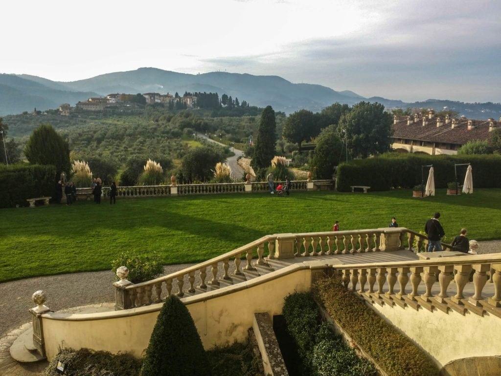 View Villa Artimino Tuscany
