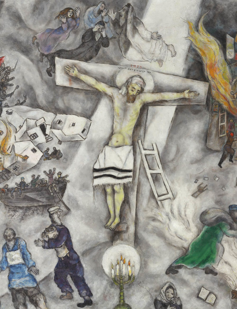 White crucifixion Chagall MTIT