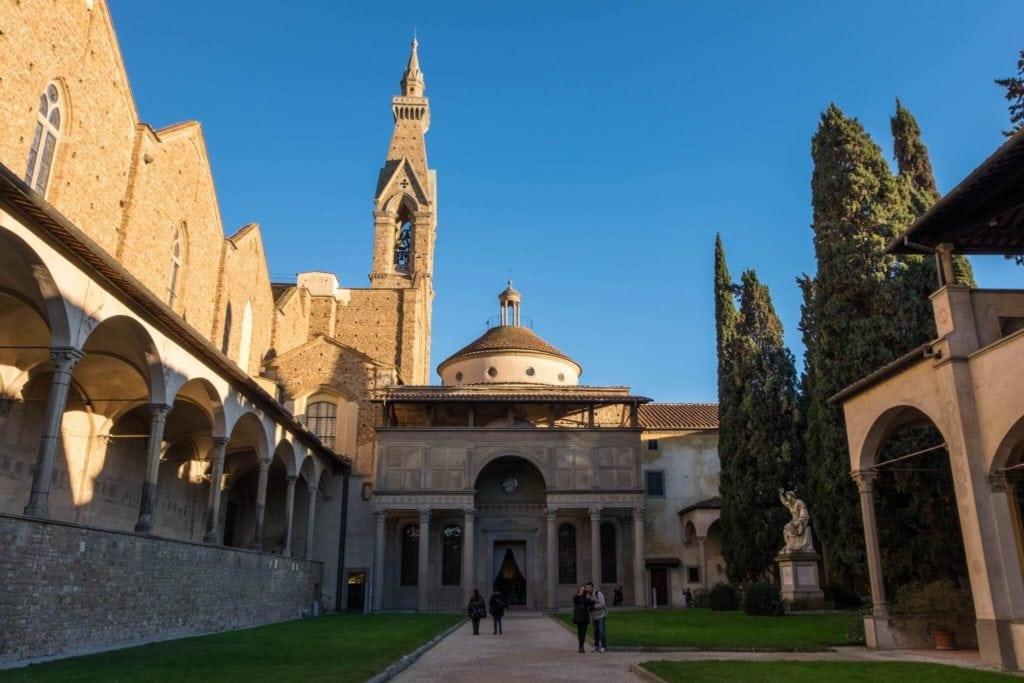 Cappella de Pazzi Santa Croce Florence