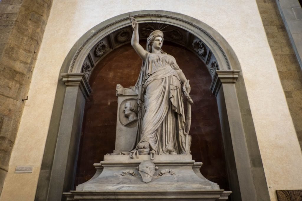 Liberty of Poetry Santa Croce Florence