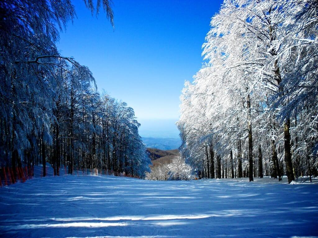 Monte Amiata-skiing in Tuscany