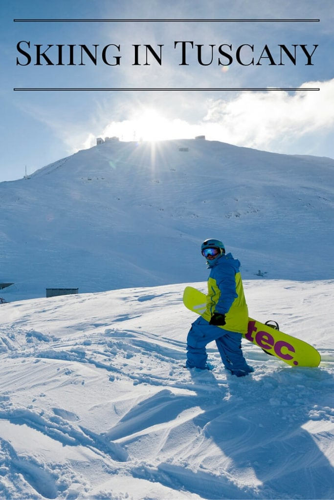 Skiing in Tuscany