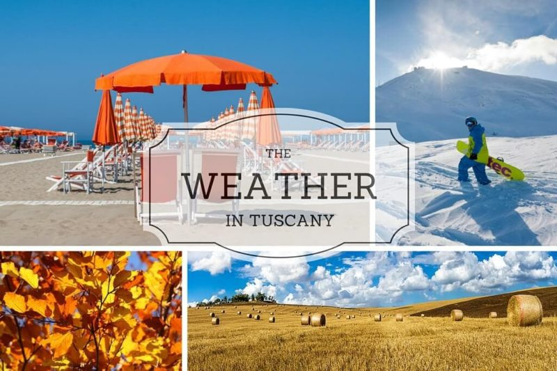 The Weather in Tuscany cover