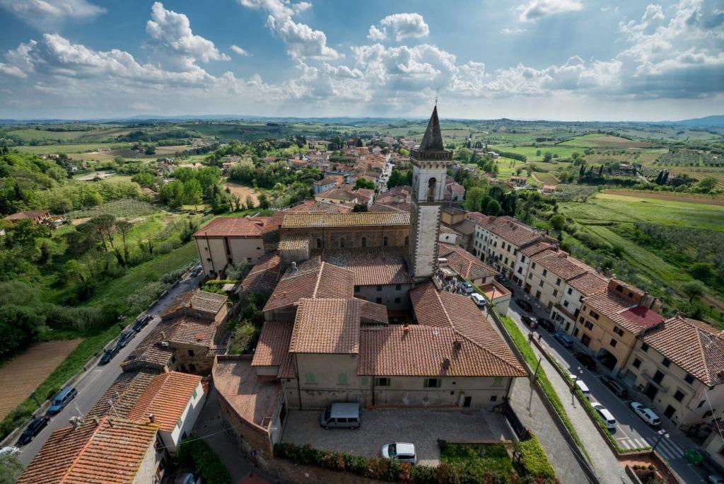 Vinci Tuscany village