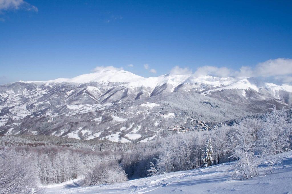 abetone landscape skiing in Tuscany MTIT