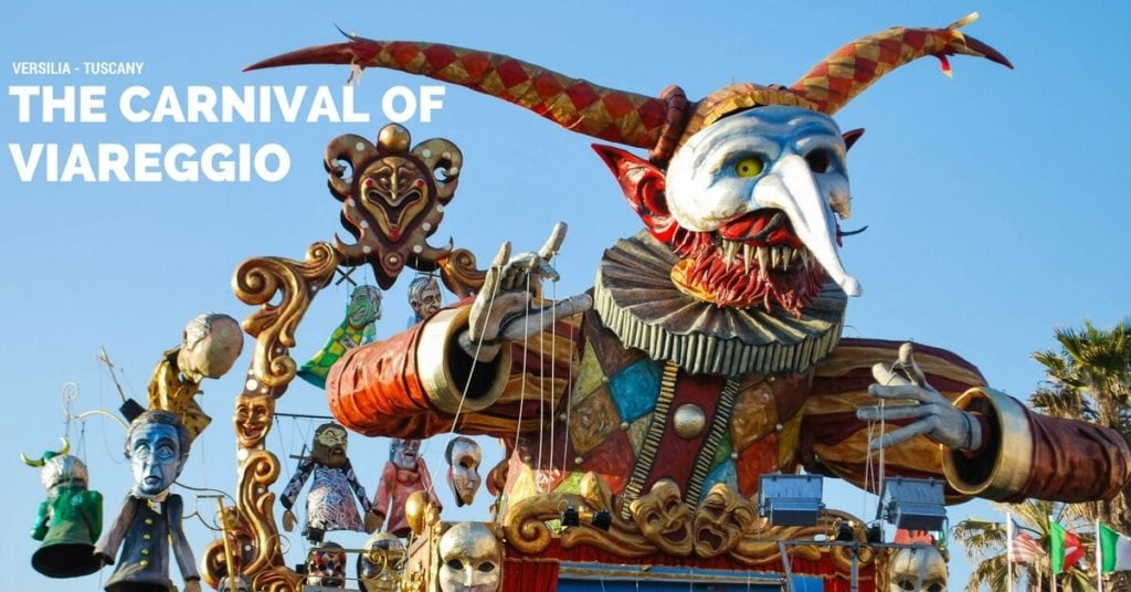 Carnival of Viareggio float
