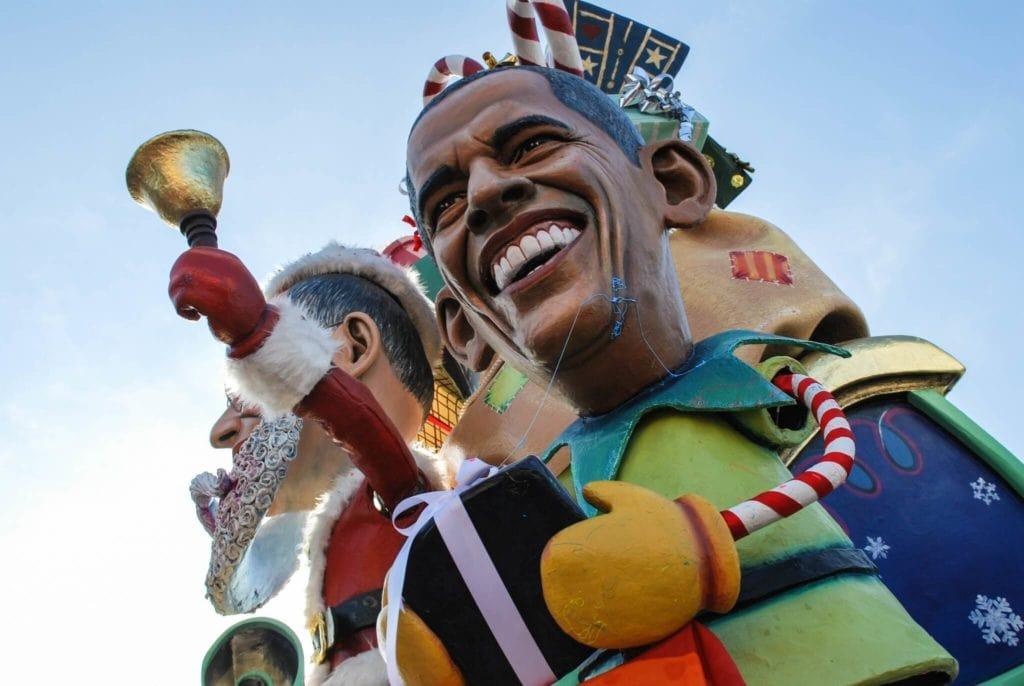 Obama Float Carnival