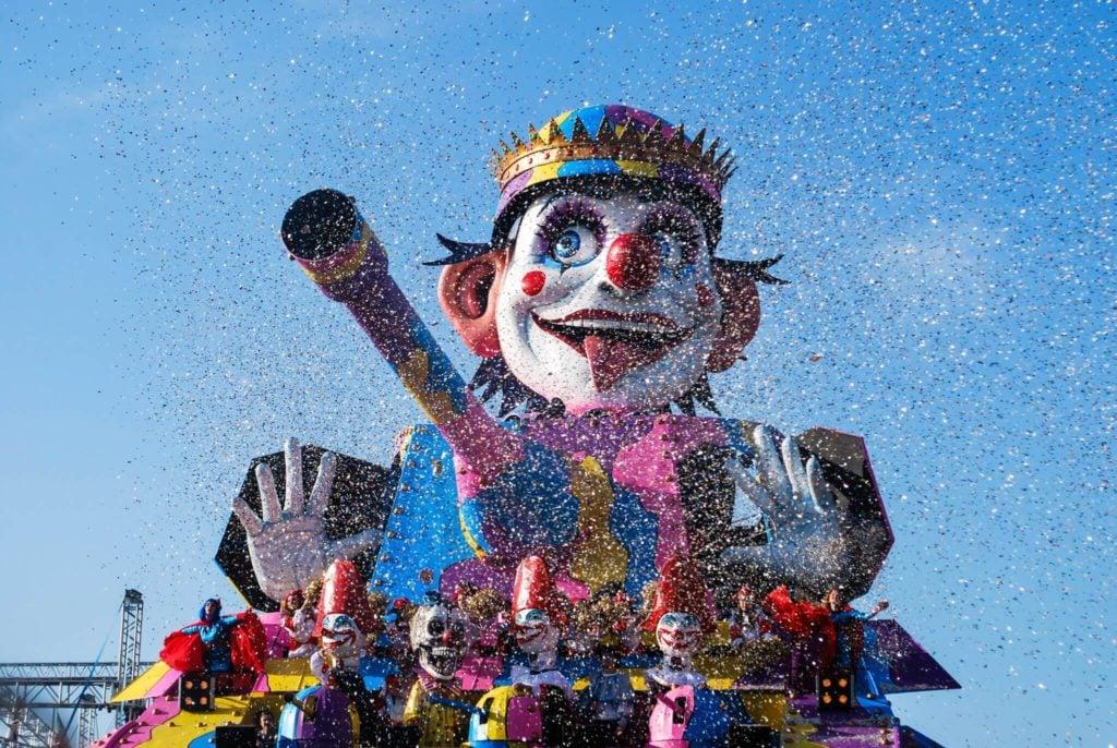 Carnival of Viareggio trunk