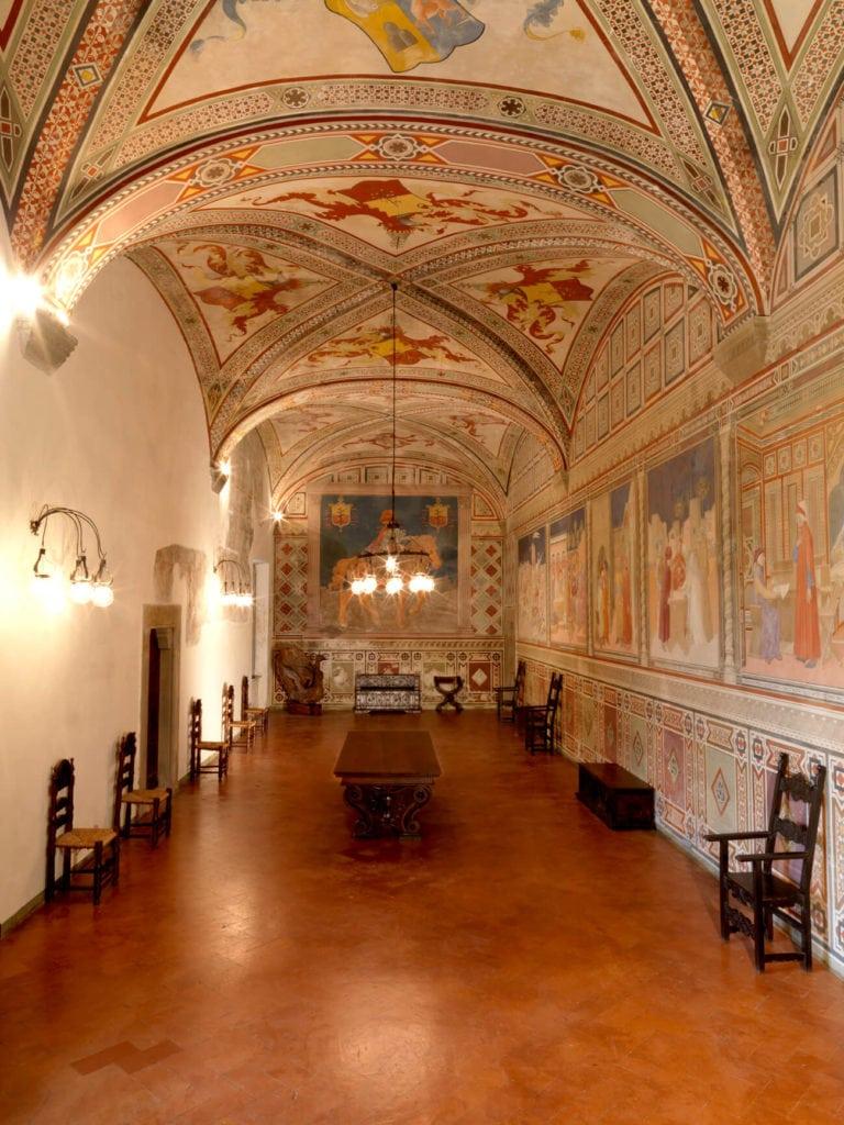 saloon of Fosdinovo Castle