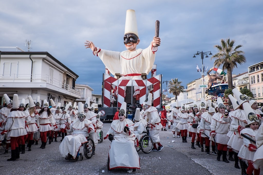 Pulcinella Carnival Float