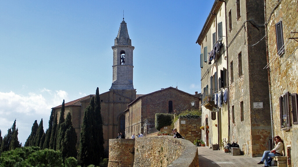 Pienza Valentine's day in Tuscany