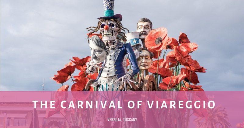 The Carnival of Viareggio Cover plus FB