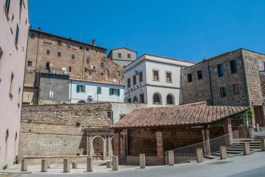 View of Bibbona Tuscany