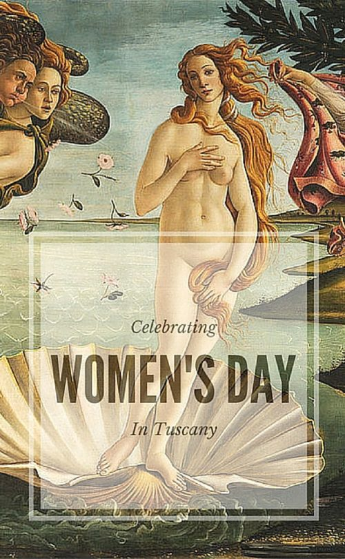 International Women's day in Tuscany