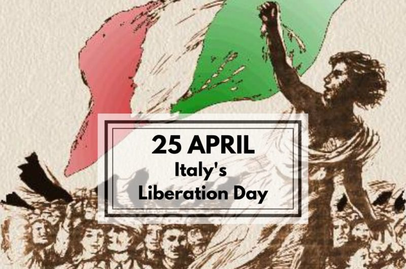 25 April Italy's Liberation Day cover article