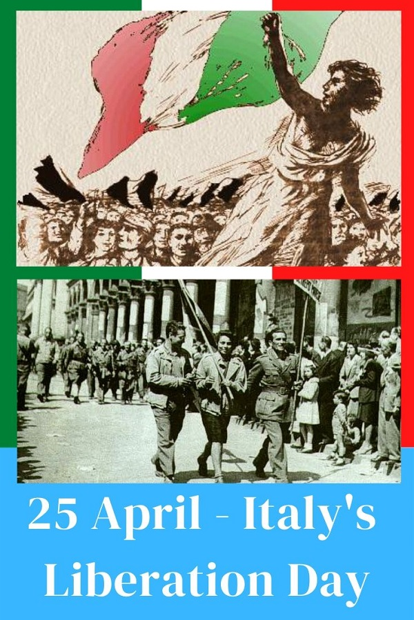 25 Aprile Italy's Liberation Day Cover Pinterest