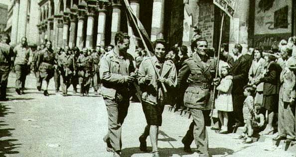 25 April Parade in Milan