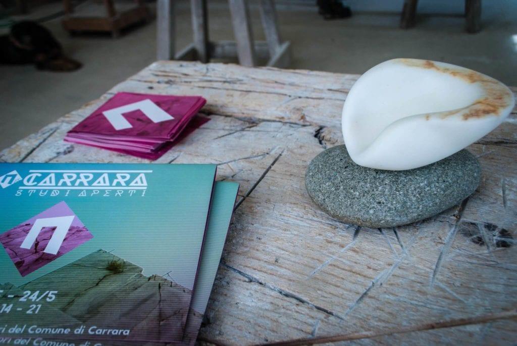 Carrara Studi Aperti flyers 2015