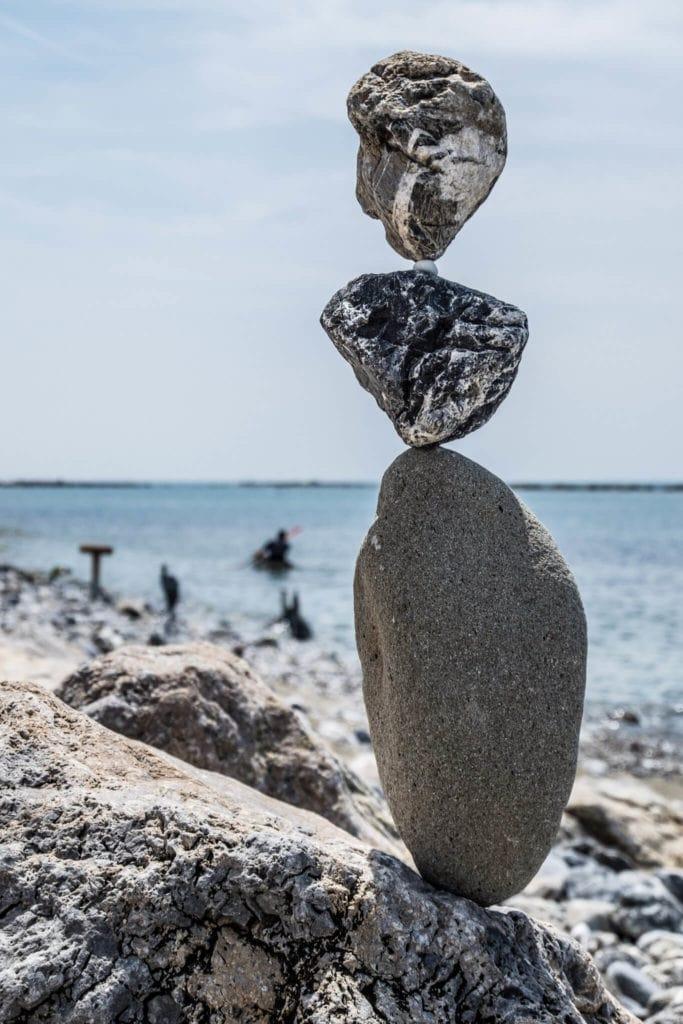 SBAM stone column Stone Balancing Tuscany