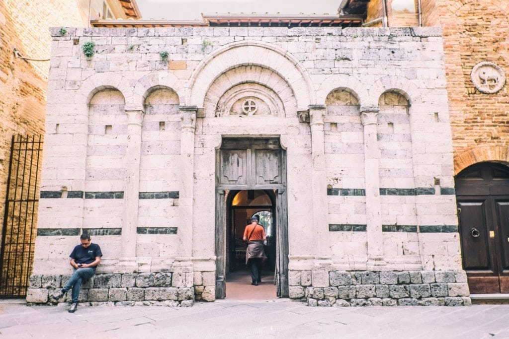 Chiesa San Francesco San Gimignano