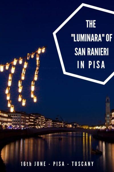 San Ranieri Luminara Pinterest