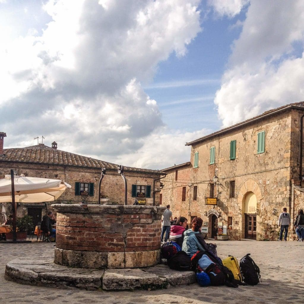 Via Francigena pilgrims my travel in tuscany