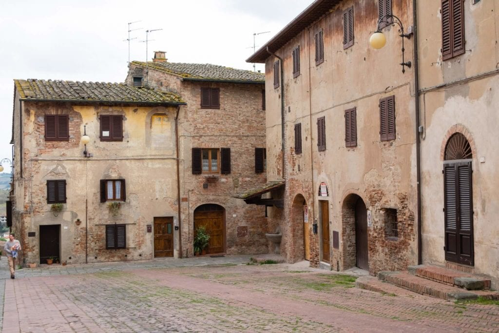 A Piazza of Certaldo